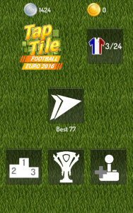 Tap Tile Football Euro 2016